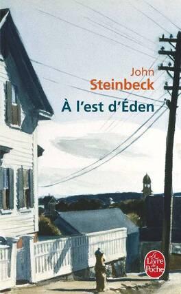 Couverture du livre : À l'est d'Éden