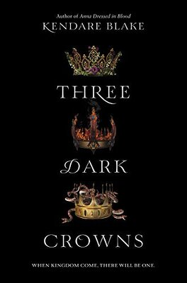 Couverture du livre : Three Dark Crowns, Tome 1