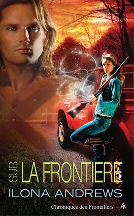 Couverture du livre : Chronique des Frontaliers, Tome 1 : Sur la frontière