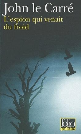 Couverture du livre : L'espion qui venait du froid
