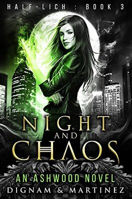 Couverture du livre : Half-Lich, Tome 3: Night and Chaos