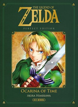 Couverture du livre : Zelda - Ocarina of time - Intégrale