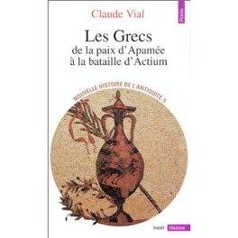 Couverture du livre : Nouvelle histoire de l'Antiquité. 5, Les Grecs