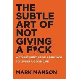 Couverture du livre : The subtle art of not giving a fuck