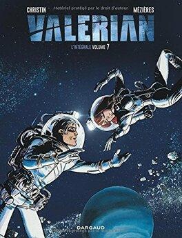 Couverture du livre : Valerian et Laureline, l'intégrale, tome 7