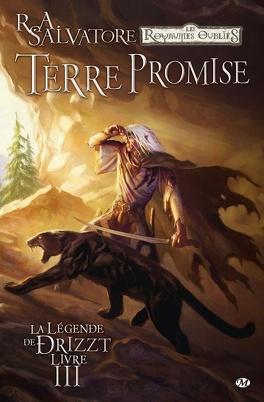 Couverture du livre : La Légende de Drizzt, Tome 3 : Terre promise (Bd)