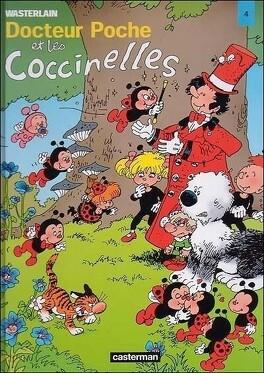 Couverture du livre : Docteur Poche et les Coccinelles