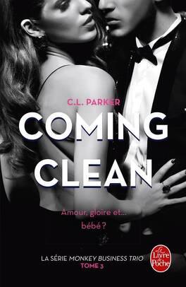 Couverture du livre : Monkey Business Trio, tome 3 : Coming Clean