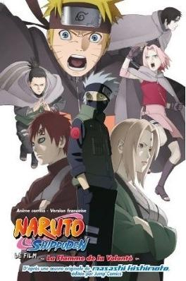 Couverture du livre : Naruto - La flamme de la volonté