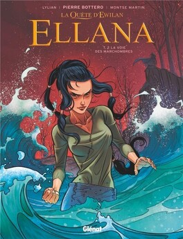 Couverture du livre : Ellana, Tome 2 : La voie des marchombres (BD)