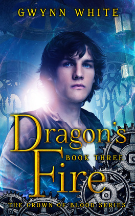 Couverture du livre : Crown of Blood, tome 3 : Dragon's Fire
