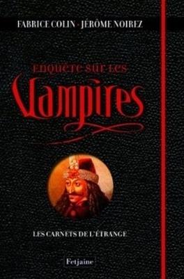 Couverture du livre : Enquête sur les vampires