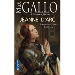 Couverture du livre : Jeanne d'Arc, jeune fille de France brûlée vive
