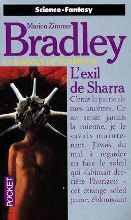 Couverture du livre : La romance de Ténébreuse, tome 17 : L'exil de Sharra