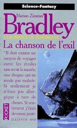 Couverture du livre : La romance de Ténébreuse, tome 19 : La Chanson de l'Exil