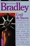 couverture La romance de Ténébreuse, tome 17 : L'exil de Sharra