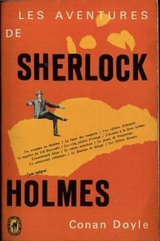 Couverture du livre : Les aventures de Sherlock Holmes (12 nouvelles)