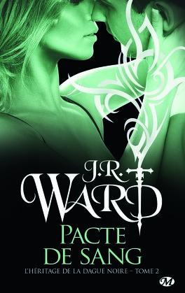 Couverture du livre : L'Héritage de la dague noire, Tome 2 : Pacte de sang