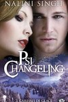 couverture Psi-Changeling, Tome 3 : Caresses de glace