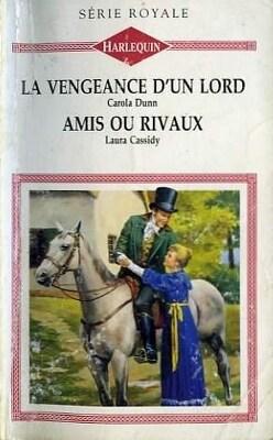 Couverture de La Vengeance d'un lord