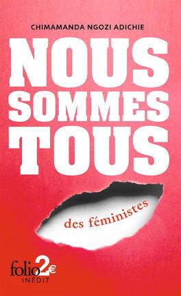 Couverture du livre : Nous sommes tous des féministes