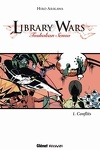 couverture Library Wars, Tome 1 : Conflits