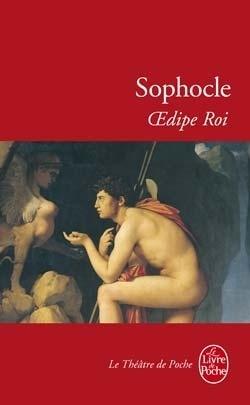 Couverture du livre : Œdipe roi
