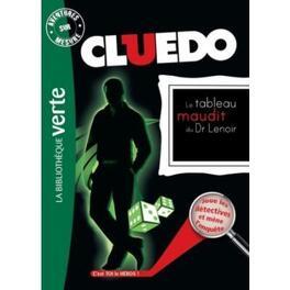 Couverture du livre : Cluedo, tome 8 : Le tableau maudit du Dr Lenoir