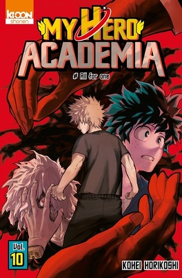 Couverture du livre : My Hero Academia, Tome 10 : All for one