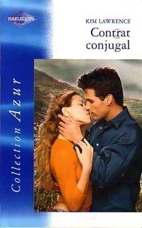 Couverture du livre : Contrat conjugal