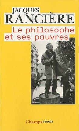 Couverture du livre : Le philosophe et ses pauvres