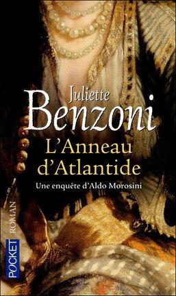 Couverture du livre : L'anneau d'Atlantide