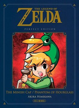 Couverture du livre : The Legend of Zelda - The Minish Cap & Phantom of Hourglass
