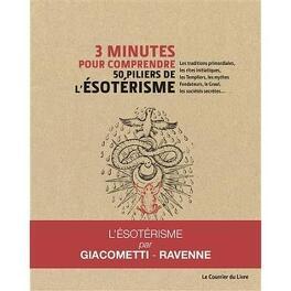Couverture du livre : 3 minutes pour comprendre 50 piliers de l'ésotérisme