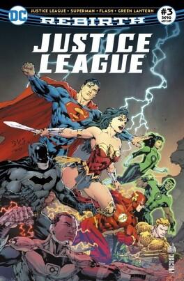 Couverture du livre : Justice League Rebirth, Tome 3