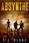couverture Absynthe, Tome 2 : Les cieux étaient de cendres