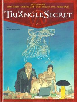 Couverture du livre : Le Triangle secret, tome 5 : L'infâme mensonge