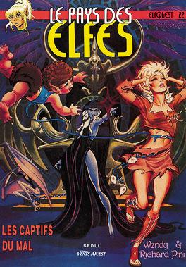 Couverture du livre : Elfquest, tome 22 : Les captifs du mal