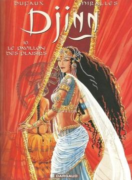 Couverture du livre : Djinn, tome 10 : Le pavillon des plaisirs