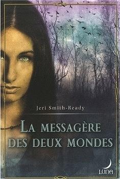 Couverture du livre : L'aspect du corbeau, Tome 1 : La Messagère des deux mondes