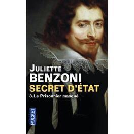 Couverture du livre : Secret d'état, Tome 3 : Le prisonnier masqué