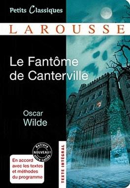 Couverture du livre : Le Fantôme de Canterville