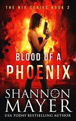 Couverture du livre : The Nix series, Tome 2: Blood of a Phoenix