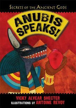 Couverture du livre : Anubis Speaks! A Guide to the Afterlife by the Egyptian God of the Dead