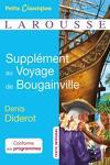 couverture Supplément au voyage de Bougainville