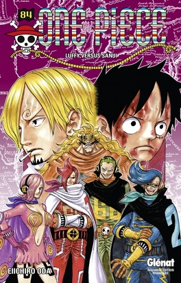 Couverture du livre : One Piece, Tome 84 : Luffy versus Sanji