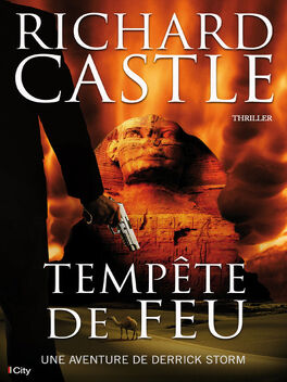 Couverture du livre : Derrick Storm, tome 5 : Tempête de Feu
