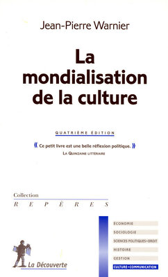 Couverture de La mondialisation de la culture