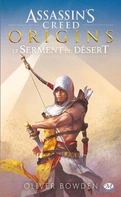 Couverture de Assassin's Creed, Tome 9 : Origins - Le Serment du Désert