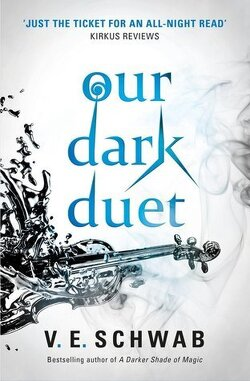 Couverture de Monsters of Verity, tome 2 : Our Dark Duet